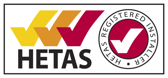 HETAS registered installer of woodburning stoves